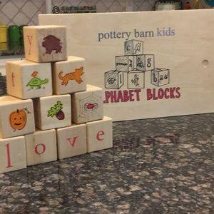 Pottery Barn Kids Word Blocks
